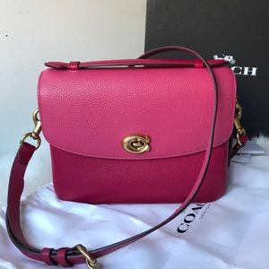 Coach Cassie Crossbody Bag Bright Cherry Multi